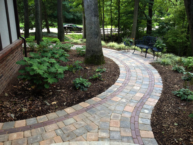 Garden Walkway Ideas Part - 37: It Is True That When It Comes To Yard Landscaping, We Often Overlook  Walkways Because We Are So Busy Thinking About Plants, Pools, And Patios.