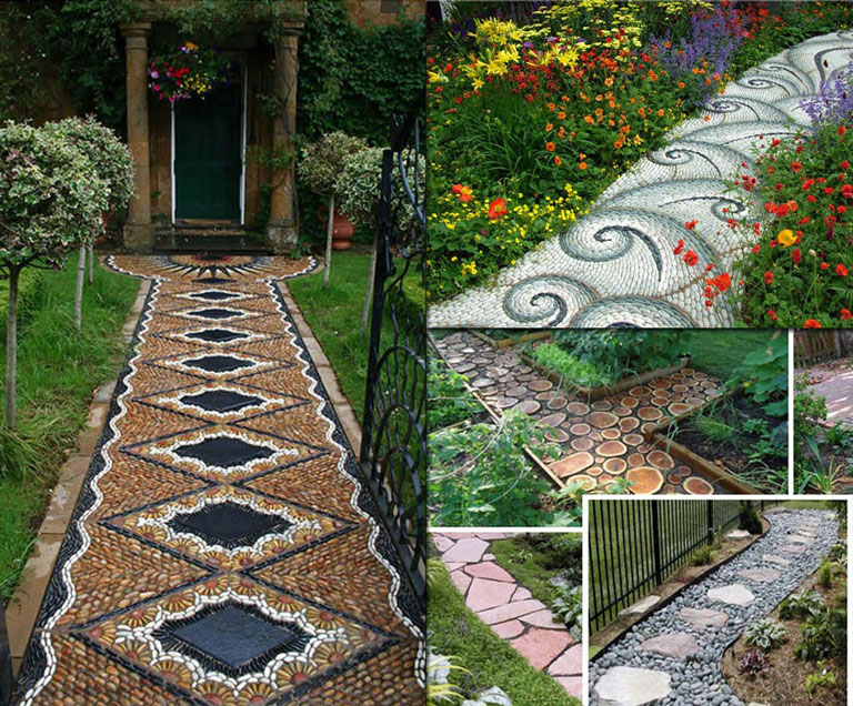 Good Garden Walkway Ideas Part - 11: Other Tips Include U201cUsing Outdoor Path Lighting For Both Safety And Way  Finding, Including Advice On Path Lighting Mistakes To Avoid And Using  Pathway ...