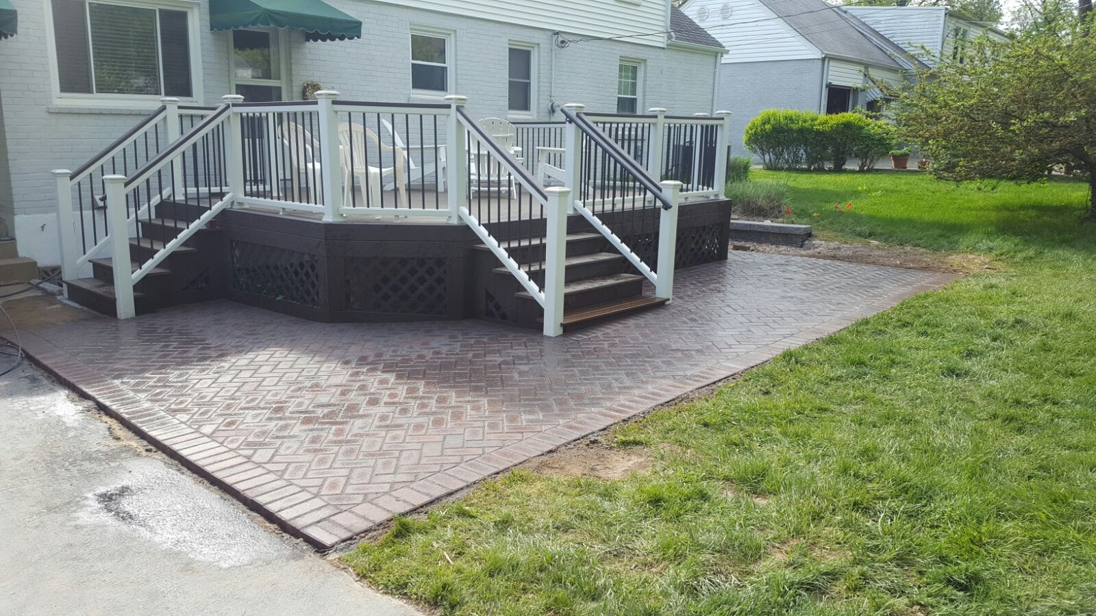 Paver Patio Design Installation Lawn Care And Lanscaping